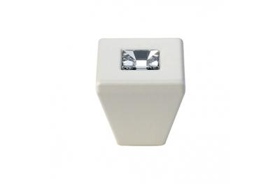 Mobile Linea Cali Reflex PB bouton avec Cristaux Swarowski® Matt White