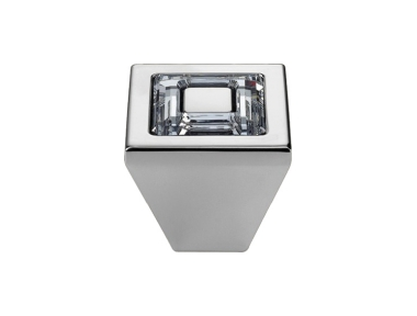 Mobile Linea Cali Bouton Cristal Bague avec cristaux Swarowski® PB Chrome poli