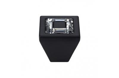 Bouton Linea Cali mobile Bague cristal PB avec cristaux Swarowski® Matt Black