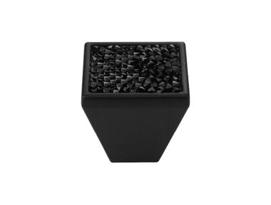 Mobile Linea Cali Rocks PB bouton avec Cristaux Noirs Swarowski® Matt Black