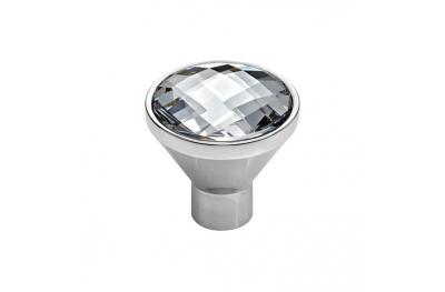 Mobile Linea Cali Veronica PB bouton avec Chrome poli de cristaux