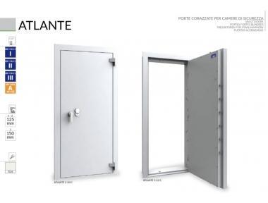 Porte blindée pour les chambres de sécurité Caveaux et Atlante Bordogna