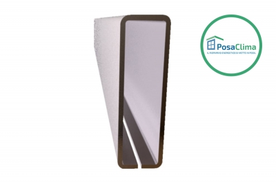 Renfort en acier pour contre-châssis Klima Pro PosaClima 12x40 mm