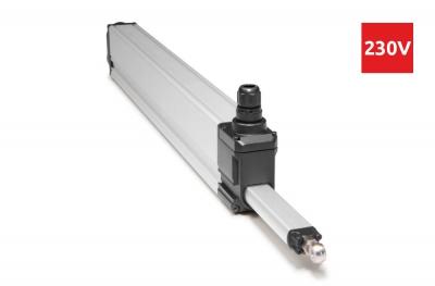 Actionneur à tige S80 Topp 230V pour fenêtres en saillie 800N Course maxi 1000mm