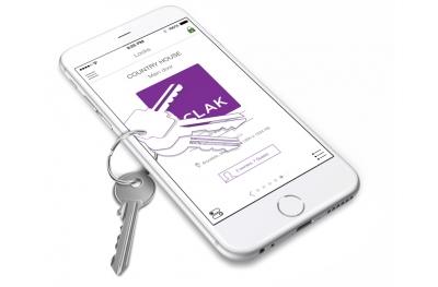 Système de contrôle d'accès et la fréquentation Sclak Ouvrez la serrure avec Smartphone