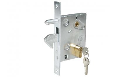Crochet de verrouillage pour portails coulissants en acier galvanisé IBFM