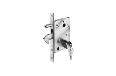 Crochet de verrouillage Savio Ambidextre pour portails et portes coulissantes