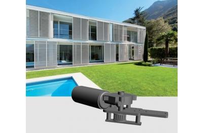 Slide 200 24Vdc Chiaroscuro Kit Automatisation Volets Coulissantes Max 300 kg