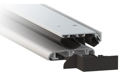 Seuil aluminium anodisé argent Comaglio 1,375 Series Universal