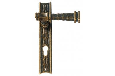 Stile Antico Galbraith poignée sur la porte de la plaque