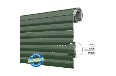 Duero 55 Shutter Volet roulant à économie d'énergie en PVC et aluminium