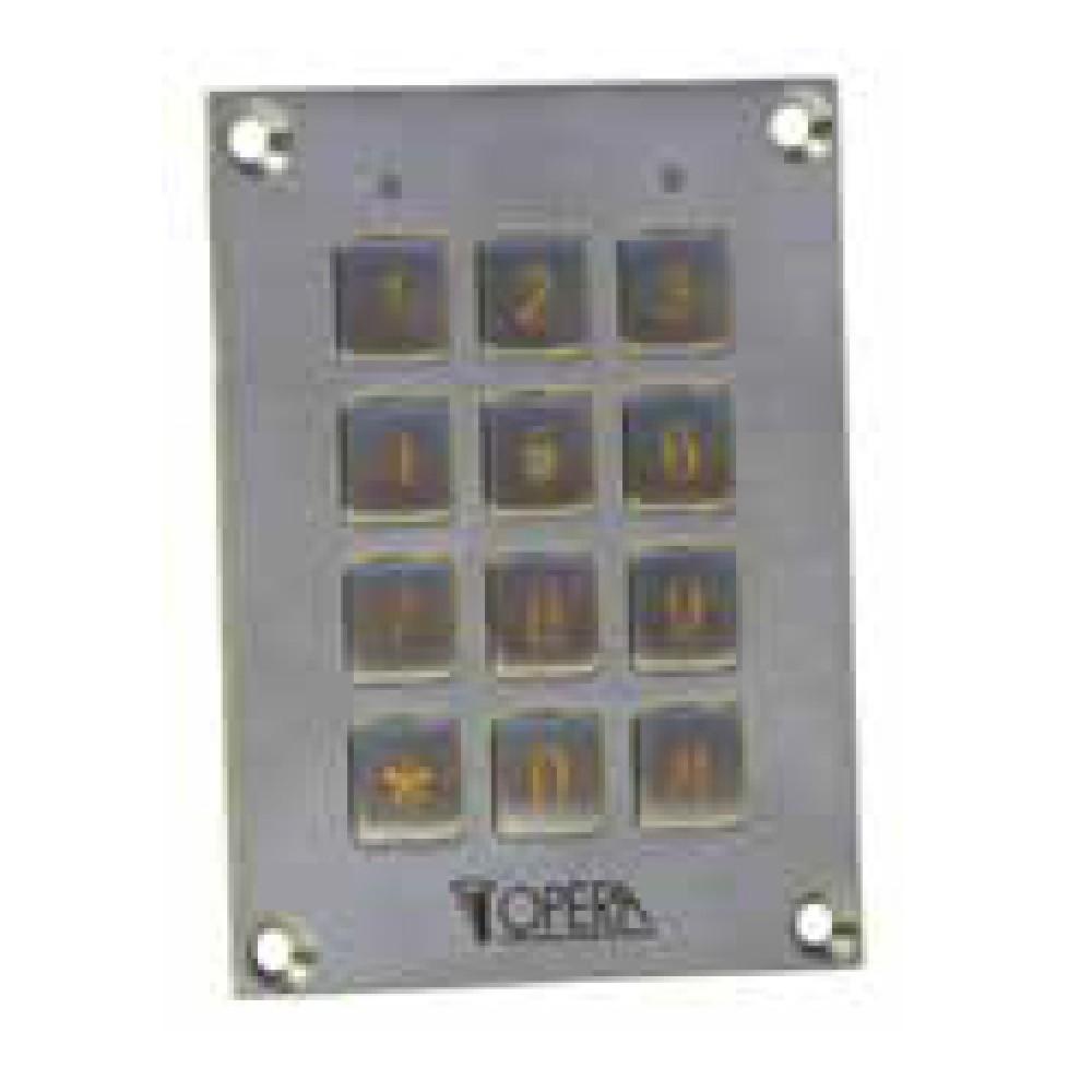 Clavier Anti-Vandalisme à Code Pour Access Control 55612SS Serie Access Opera
