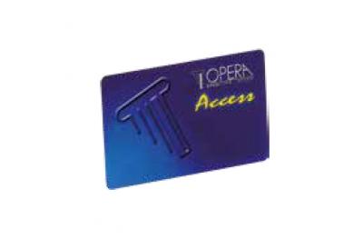 Carte à Bande Magnetique Pour Control Access 55615 Serie Access Opera