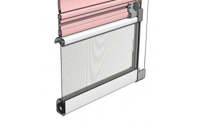 Moustiquaire Bettio flip 1 pour Stores avec guides externes fixes