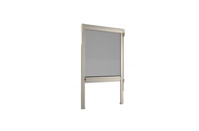 Moustiquaire Bettio gamme Cliquez-Clak Cassone arrondi chaîne verticale