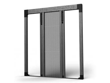 Moustiquaire Plissée Bilatérale 04 pour Balcons et Portes Fenêtres SharkNet