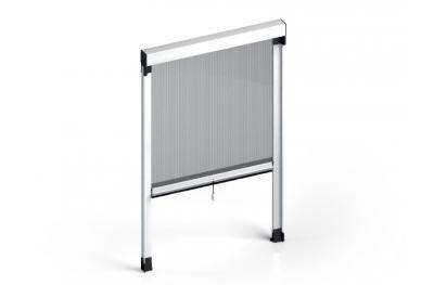 Moustiquaire Quadra vertical ressort standard Cassonetto 50mm Zanzar Sistem