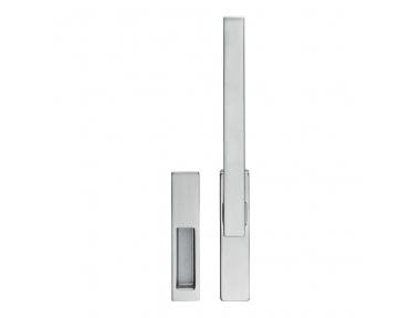 Twist Zincral Poignée de fenêtre Martellina DK avec Intrusion Invisible Line Cali Design System