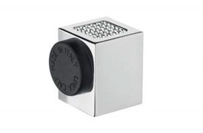Butée de porte Calì Line Zen Mesh 302 FE avec cristaux Swarovski® en forme de cube